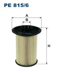 Palivový Filtr Filtron PE 815/6