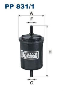Palivový filtr Filtron PP 831/1