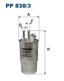 Palivový Filtr Filtron PP 838/3