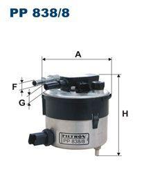 Palivový Filtr Filtron PP 838/8