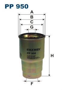 Palivový filtr Filtron PP 950