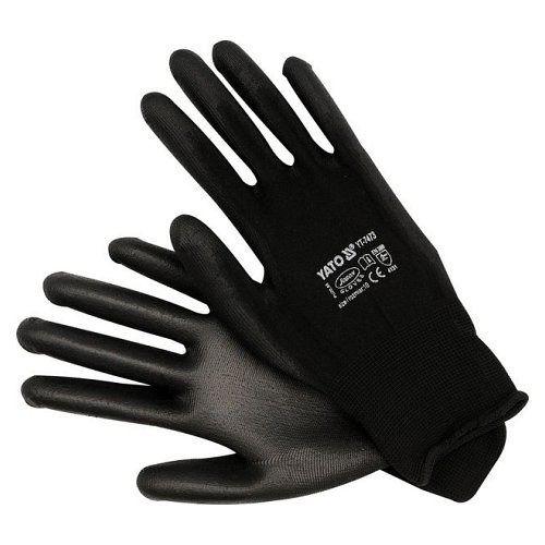 Pracovní rukavice nylon/PU YATO