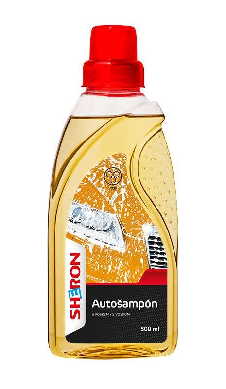 SHERON Autošampon s voskem 500 ml