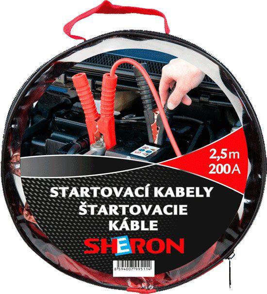 SHERON Startovací kabely 200A