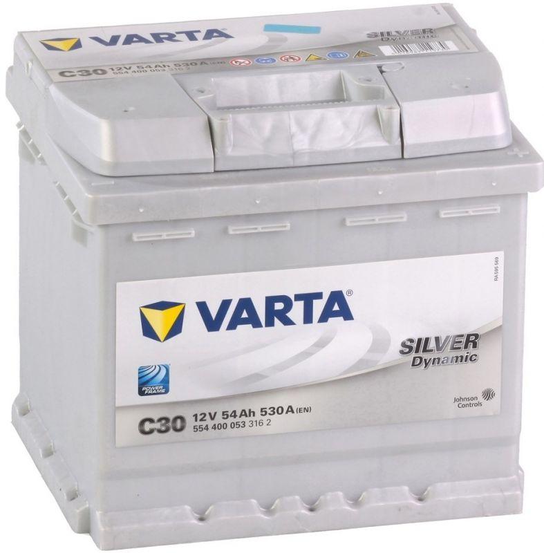 Varta Silver Dynamic 12V 54Ah, 530A