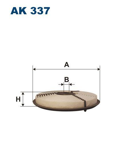Vzduchový filtr Filtron AK 337
