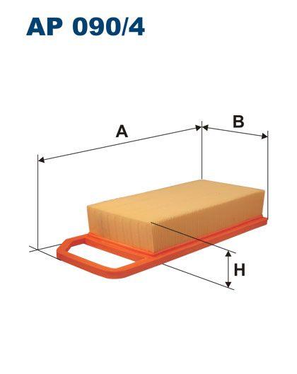 Vzduchový filtr Filtron AP 090/4