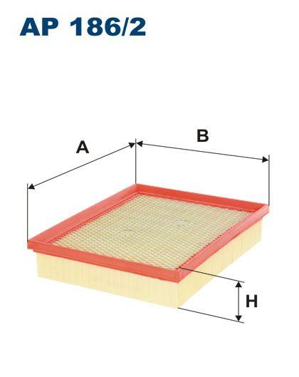 Vzduchový filtr Filtron AP 186/2