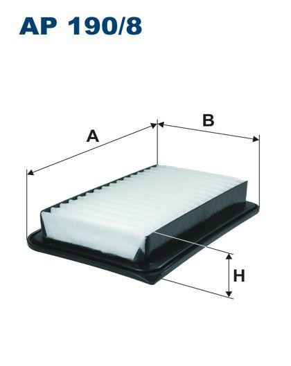 Vzduchový filtr Filtron AP 190/8