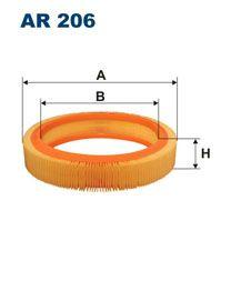 Vzduchový filtr Filtron AR 206