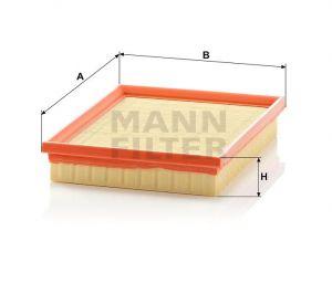 Vzduchový filtr Mann-Filter C 2256
