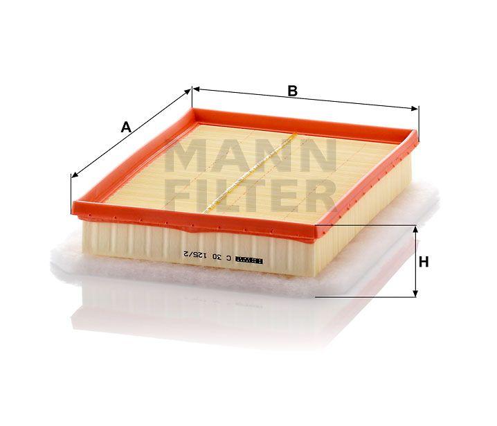 Vzduchový filtr Mann-Filter C 30 125/2