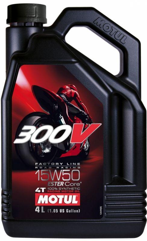 Motul 300V FL Road Racing 15W-50 4L