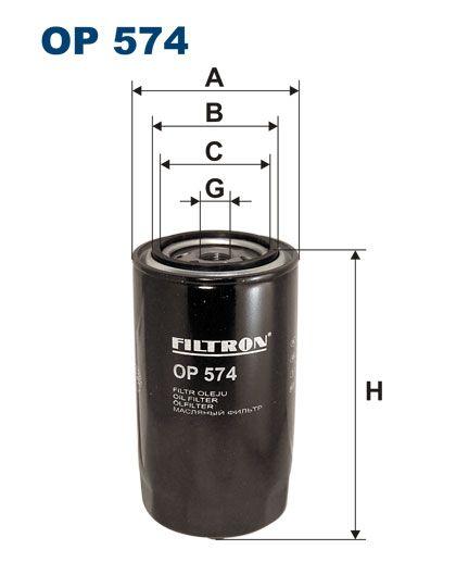Olejový filtr Filtron OP 574