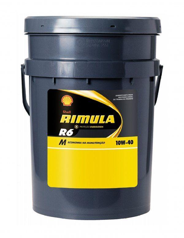 SHELL RIMULA R6M 10W-40 20L