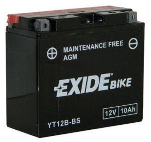 Motobaterie Exide Moto 12V/10Ah, YT12B-BS